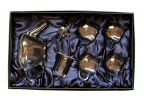 Чайный сервиз в подарочной упаковке Стекло №3 _0