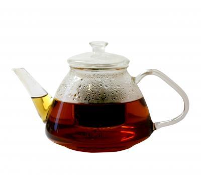 Чайный сервиз из стекла