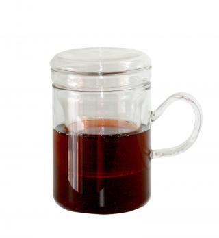 Кружка стеклянная для заваривания чая