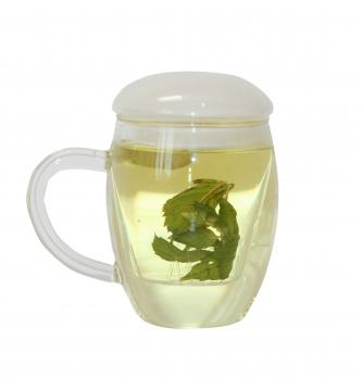 Кружка для заваривания чая стеклянная