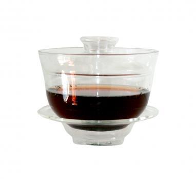 Гайвань для заваривания чая стеклянная