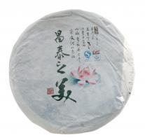 "Шен Пуэр лепешка ""Чан Тай Чжи Мэй"" 357 гр._0"