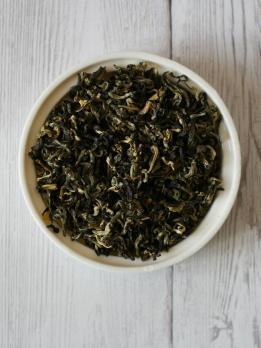 Зеленый жасминовый чай Мо Ли Лун Чжу (Жасминовая жемчужина дракона)